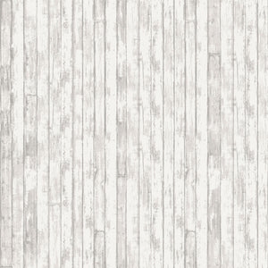 "Gray Shiplap siding 'Loads of Fun' 44"" quilt fabric,  Studio-E,  4886-90"