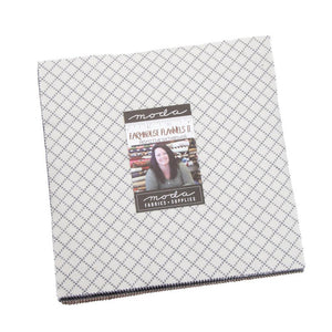 "FARMHOUSE Flannels II Layer Cake (10"" squares) by Moda, 49100LCF"