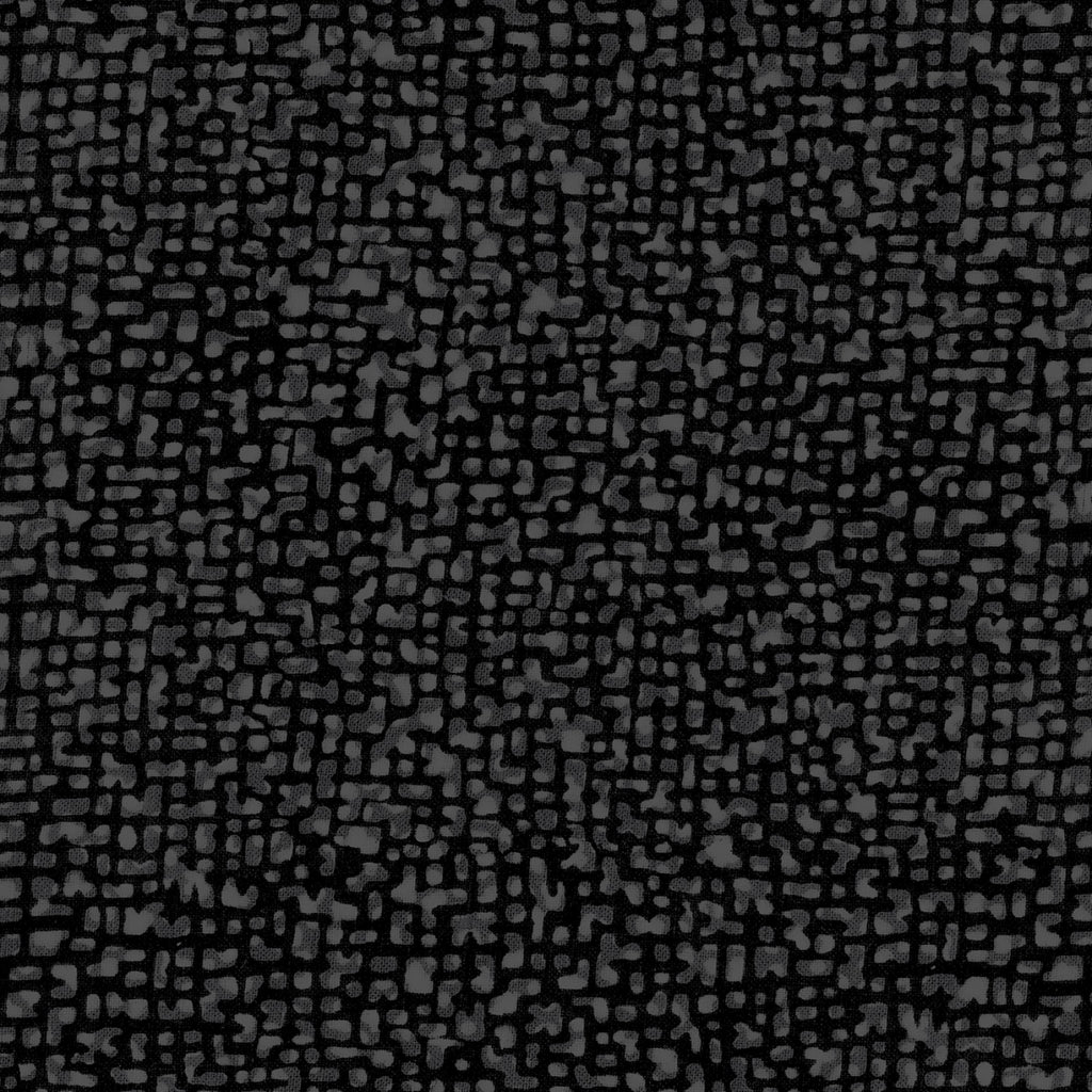 "Black Peppercorn Bedrock 108"" fabric by Windham, 50994-1"