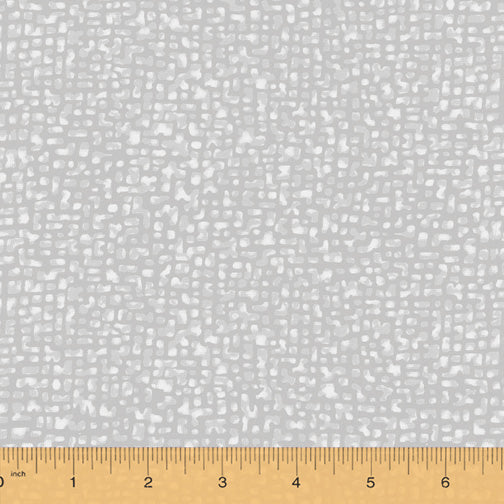 "Gray Gris Bedrock 108"" fabric, Windham, 50994-3"