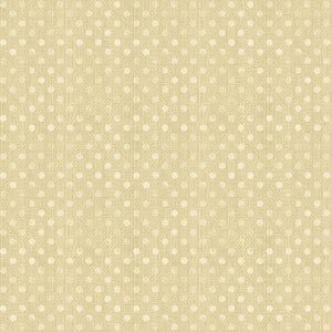 "Golden Tan dots 108"" quilt fabric, Wilmington Prints, 6814-221, Dotsy"