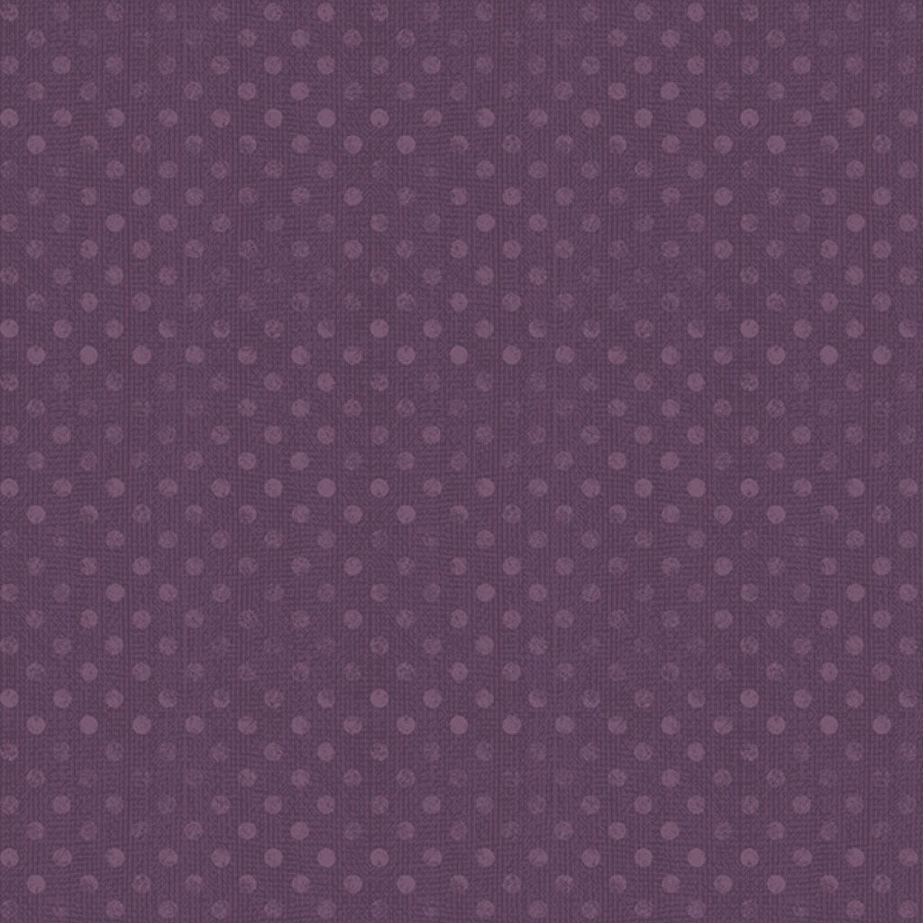 "Purple Dots 108"" quilt fabric, Wilmington Prints, 6814-660, Dotsy"