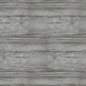 "Gray Farmhouse Wood by Contempo studio 44"" fabric, 7709-13,, Words to Live By"