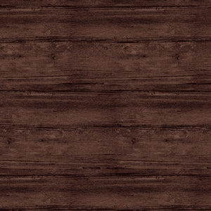 "Brown Espresso Washed Wood 108"" fabric by Benartex, Contempo Studio, 0770972B"