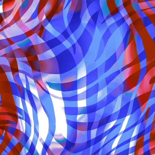 "Patriotic Zebra 108"" quilt fabric, Henry Glass,  8915W-78"