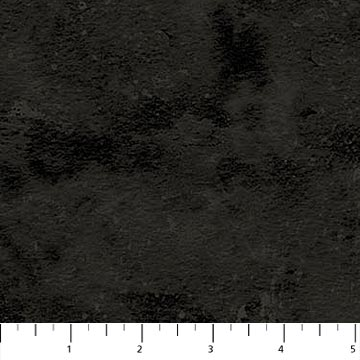 "Black Toscana mottled 44"" fabric by Northcott, 9020-99"