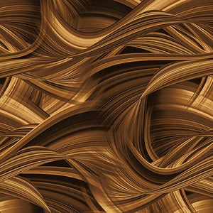 "Brown Sedona Wave 108"" fabric, Blank Quilting,  9537-39"