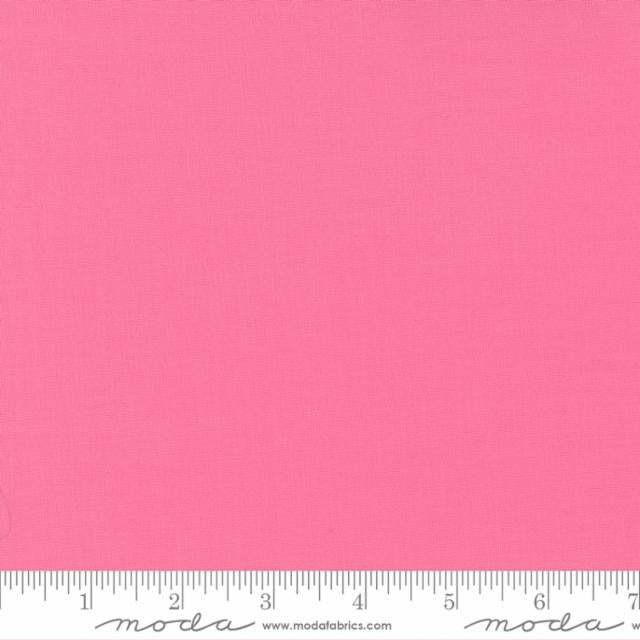 "30's Pink Bella Solid 44"" fabric by Moda Fabrics,  9900 27"