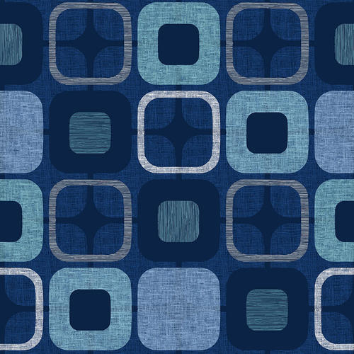 "Navy Geo Square 108"" fabric, Blank Quilting, 9986-77"