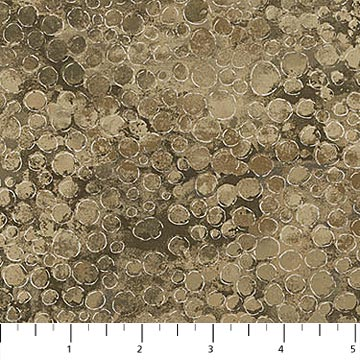 "Brown Shimmer 108"" fabric by Northcott,  B22991-12"