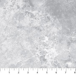 "Gray Stonehenge 108"" fabric by Northcott,  B3937-91"