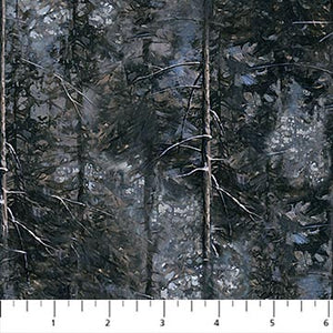 "Naturescape Trees 44"" fabric, Northcott,  DP23040-94, When Eagles Soar"