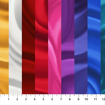 "Multi color stripes 44"" fabric by Northcott, DP23398-10,  Jewel Box"