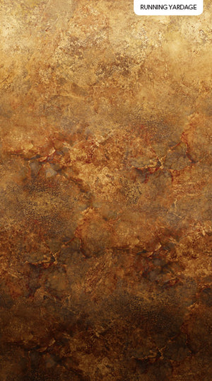 "Iron Brown Stonehenge Gradations Ombre 44"" fabric by Northcott, DP39420-37"