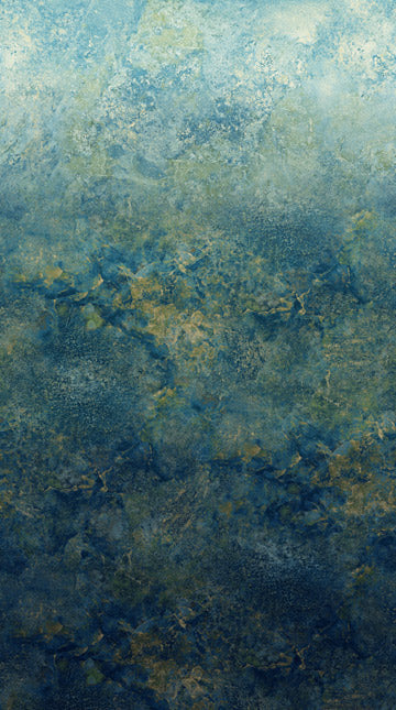 "Blue Stonehenge Gradations Ombre 44"" fabric by Northcott, DP39420-49"