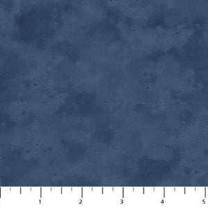 "Dark Blue 44"" flannel, Northcott, F22984-44, Misty Mountain"