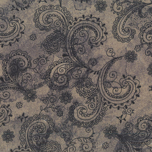 "Black & Gray Avalon 108"" fabric by Quilting Treasures, 26312-K"