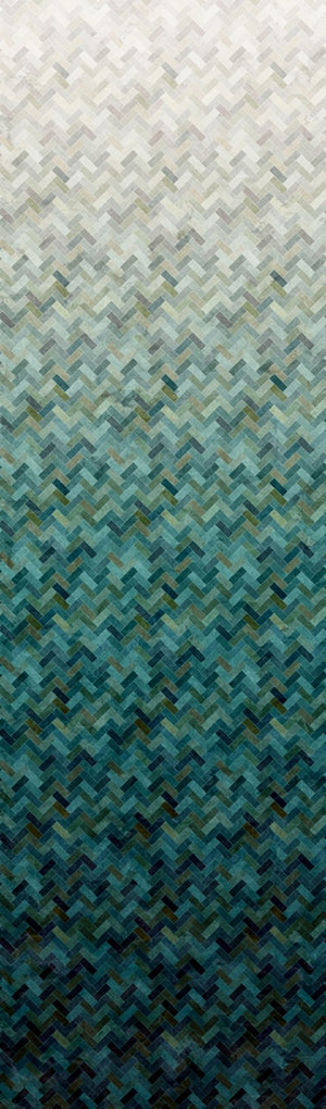 "Seaside Blue abstract 44"" fabric by Hoffman, R4650-484-Seaside, Backsplash"