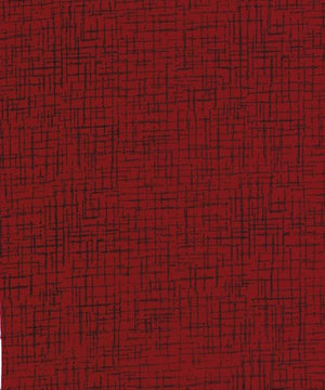 "Vermilion Red 110"" flannel by Westrade, Betula,  RI9022-9"