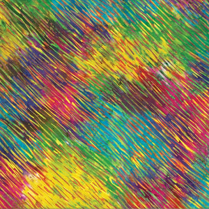 "Bright multi color 44"" batik, Hoffman, S2303-130-multi"