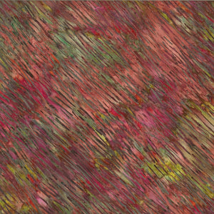"Cranberry - Green 44"" batik, Hoffman,  S2303-634-Global Spice"
