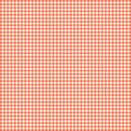 "Orange Gingham 44"" fabric by Clothworks, SB20268-420, Sweet Bees by Susybee"