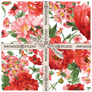 "Prose Layer Cake (10"" squares) by Maywood Studio, 42 pieces"