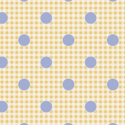 "Gingdot Eggnog 44"" fabric by Tilda, Happy Camper TIL100226-V11"