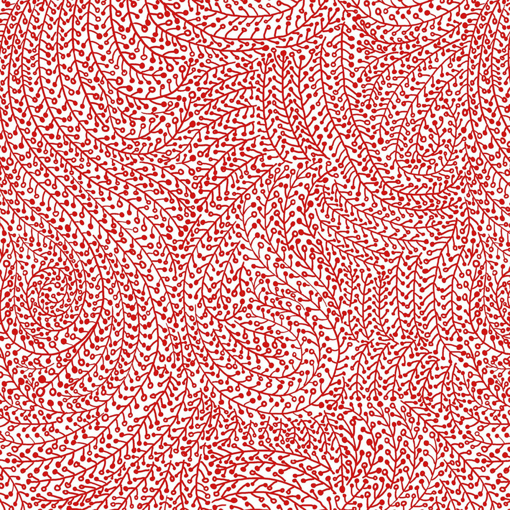 "Red Vine Maze 108"" fabric by Michael Miller,  WBX6774-RED"