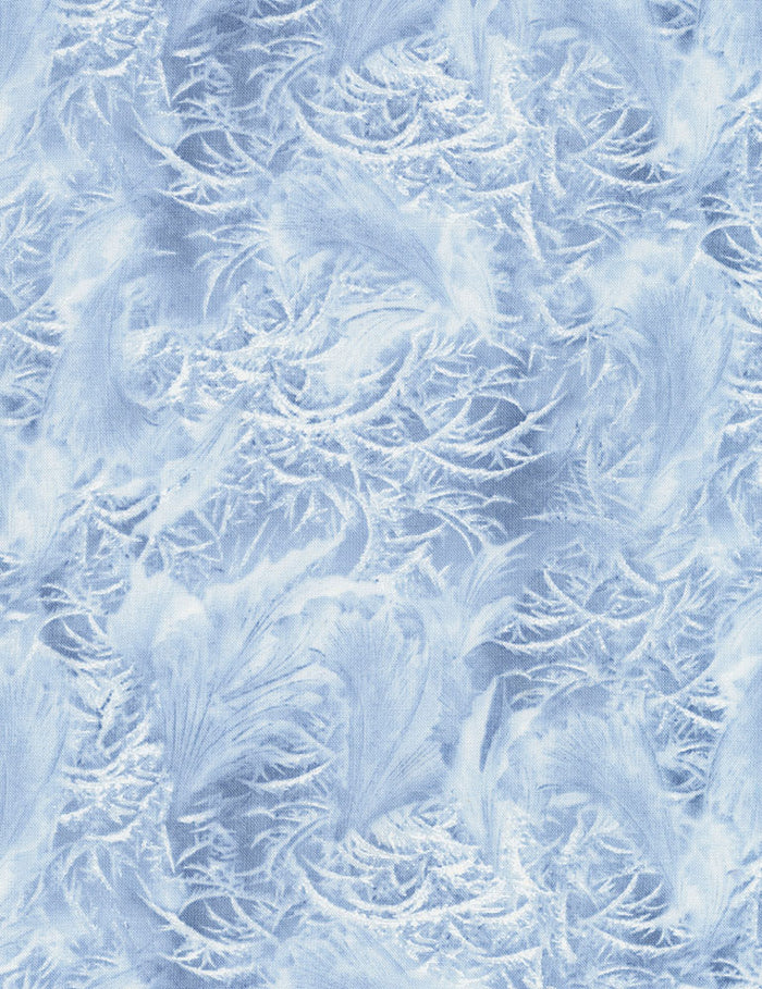 "Blue Winter Ice, 44"" quilt fabric, Timeless Treasures, Winter-C7025-Ice"
