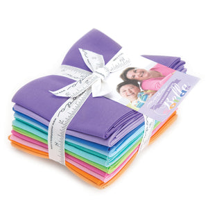 12 Me and My Sister Designer Colors, Bella Fat Quarter Bundle, Moda, 9900ABMMS
