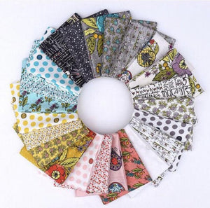Bubbies Buttons and Blooms Fat Quarter Bundle by Windham, BUBBFATQ-X