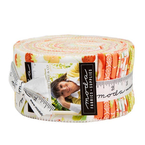"Chantilly 'Fresh Flowers' Jelly Roll (2-1/2"" strips) by Moda, 20340JR, Fig Tree & Co"