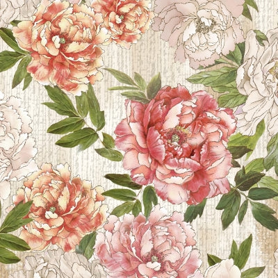 "Pink Flowers in all over print 44"" fabric by Timeless Treasures, Dance CD7227"