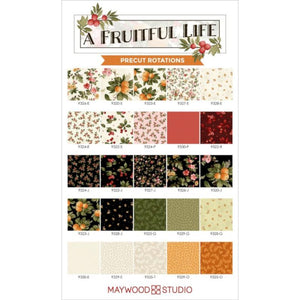 A Fruitful Life Fat Quarter Bundle by Maywood Studios,  FQ-MASAFL, 25pcs