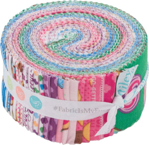 "Girl Scouts Jelly Roll (2-1/2"" strips) by Riley Blake, RP-6770-40"