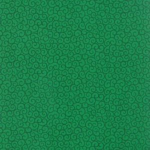 "Green Ho Ho Ho Swirls 108"" fabric by Moda, 11102-12"