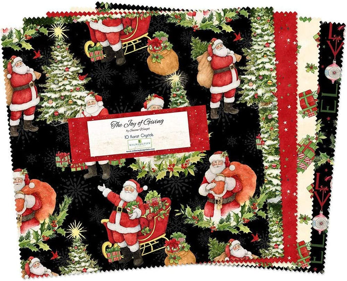"The Joy of Giving Layer Cake (10"" squares) by Wilmington"