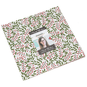"Moda Merriment Layer Cake (10"" squares) by Gingiber,  48270LC"