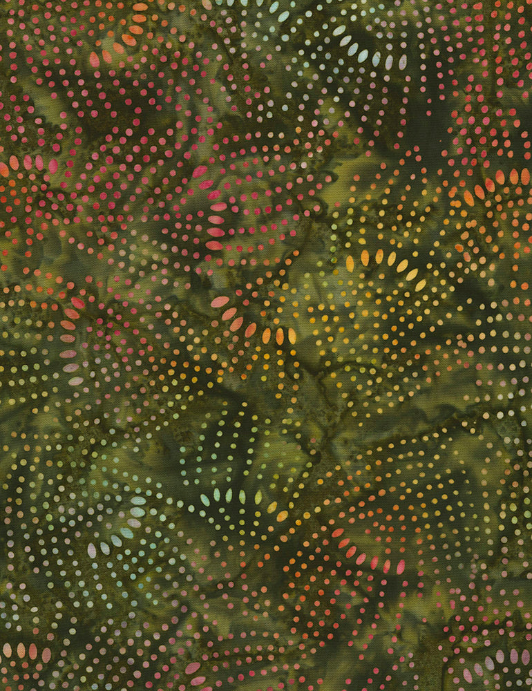 "Jewel Batik Posey 106"" by Timeless Treasures, Xtonga-B6649-Posey"