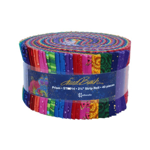 Prism with metallic accents Jelly Roll by Laurel Burch, ST0214