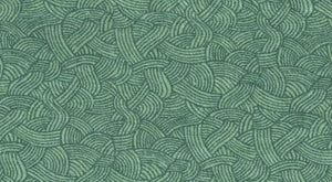 "Blank 108"" Flannel Btr6649 Green Seafoam Waves"
