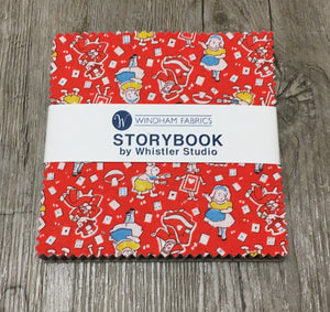 Children 30's Storybook Layer Cake by Whistler Studios, STRYCP10-X