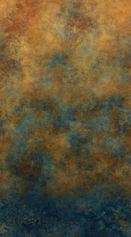 "Brown and dark blue ombre by Northcott, 44"" fabric, DP23032-48, Wild Horses"