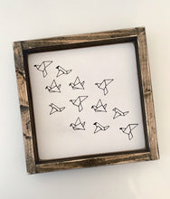 Load image into Gallery viewer, Birds in Flight - Wood Sign