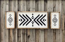 Load image into Gallery viewer, Boho Aztec Vibe Mini - Wood Sign