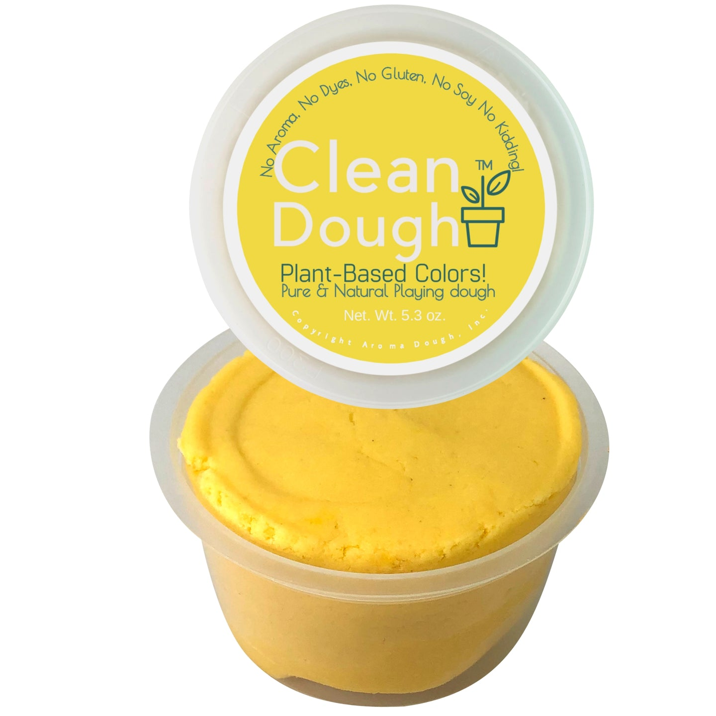 aroma dough clean dough mini Dark Yellow