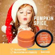 Load image into Gallery viewer, girl smelling pumpkin spice playdough