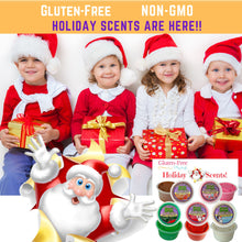 Load image into Gallery viewer, (SOLD OUT) Aroma Dough CHRISTMAS SCENTS  5 Tubs Gift Box! ON SALE $19.97