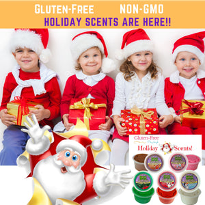 (SOLD OUT) Aroma Dough CHRISTMAS SCENTS  5 Tubs Gift Box! ON SALE $19.97